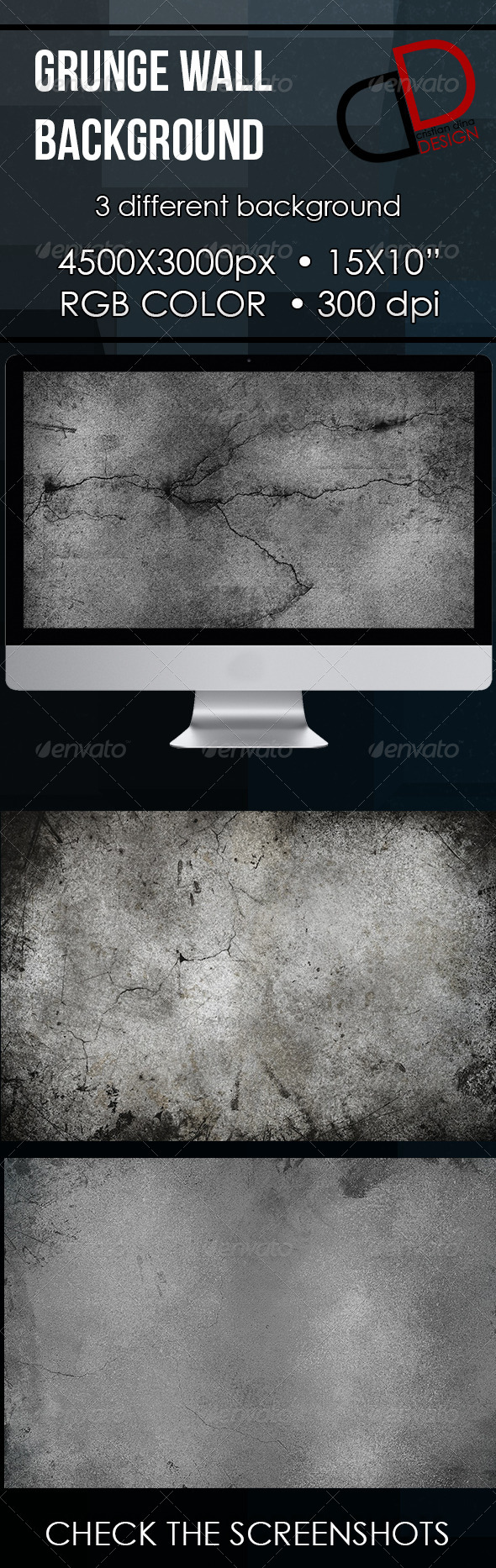Grunge Wall Background - Backgrounds Graphics