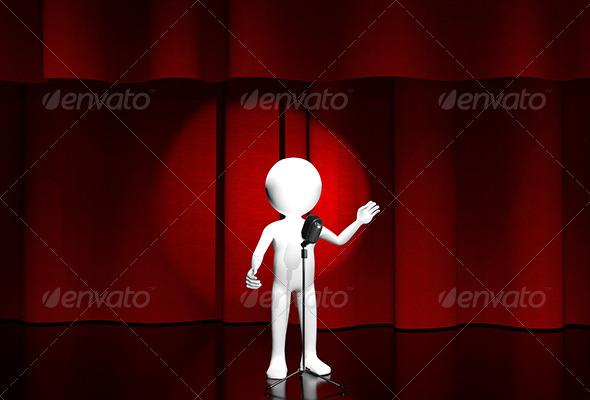 onstage - Characters 3D Renders