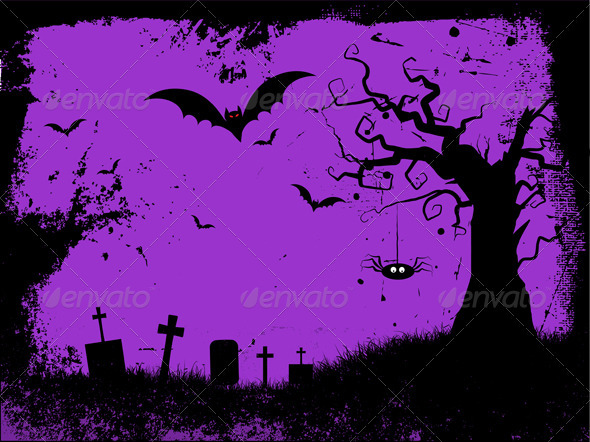 Grunge Halloween Background - Halloween Seasons/Holidays