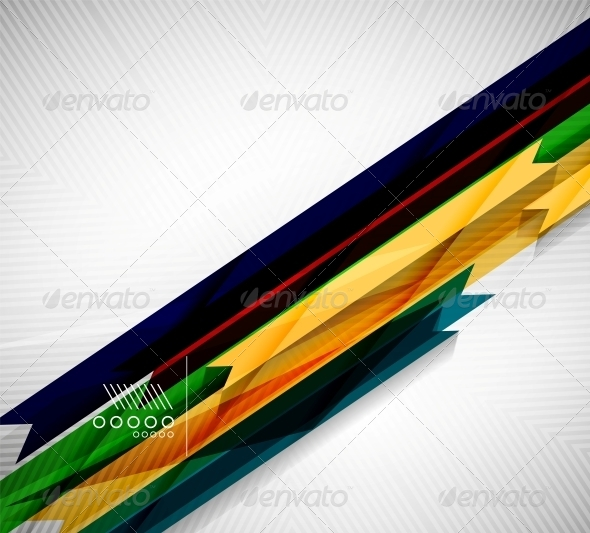 Geometric Shape Straight Stripes Background - Backgrounds Decorative