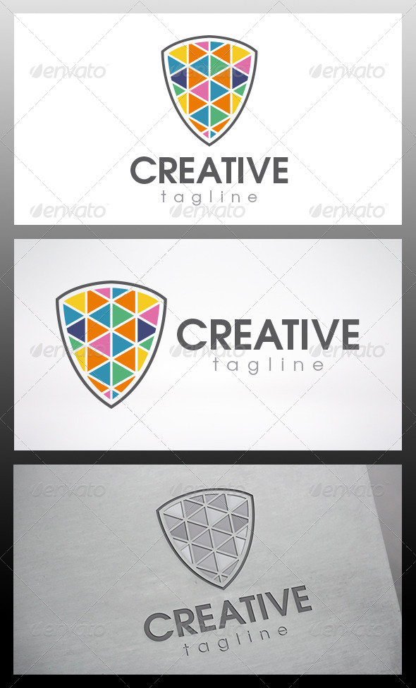 Creative Shield Logo - Objects Logo Templates