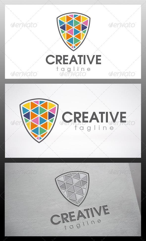 Creative Shield Logo - Objects Logo Templates