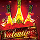 Valentine's Love Party Flyer - GraphicRiver Item for Sale