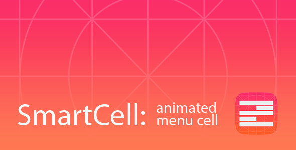 SmartCell: Animated Menu Cell  - CodeCanyon Item for Sale