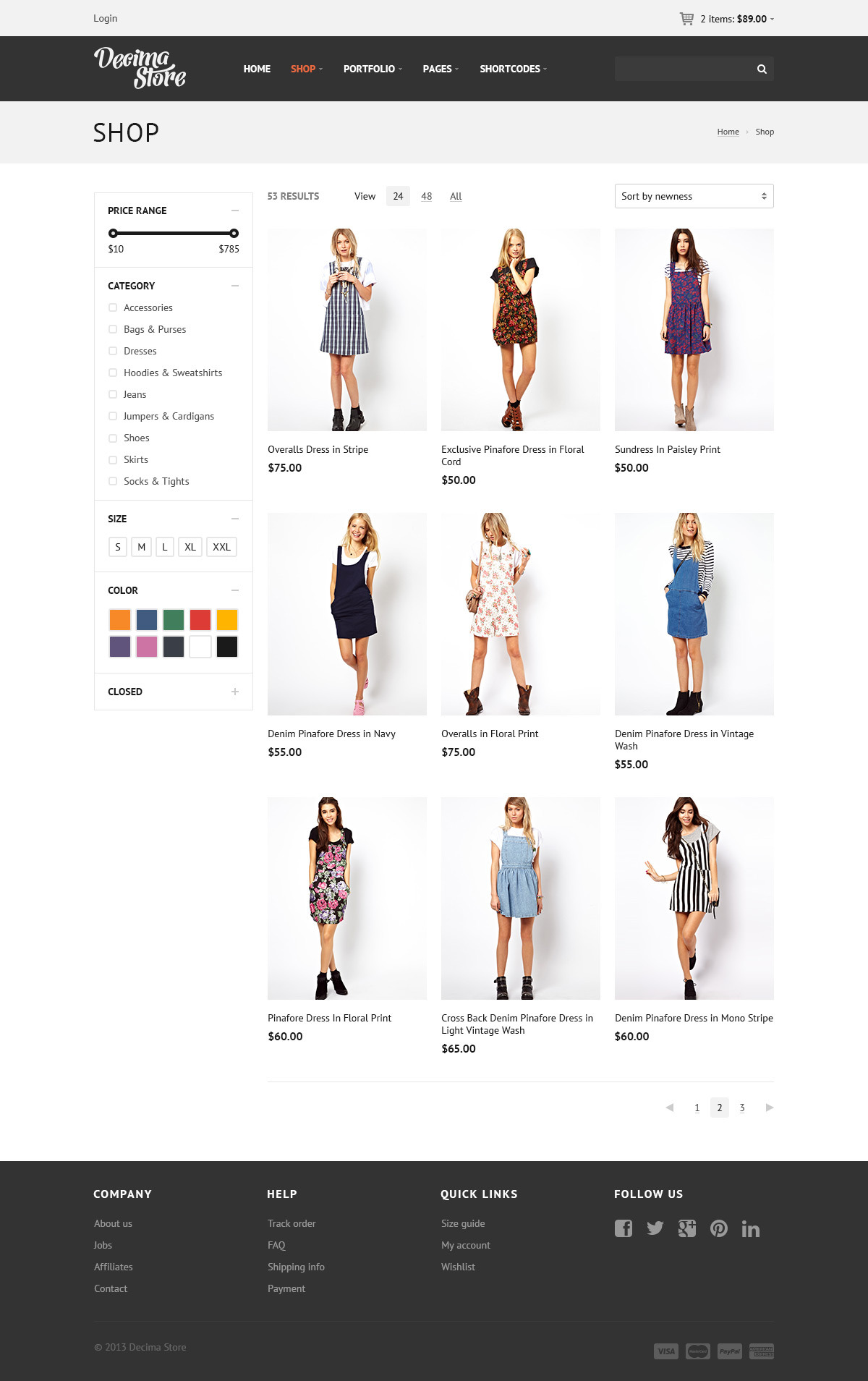 Decima eCommerce HTML Template by ThemeWoodmen   ThemeForest