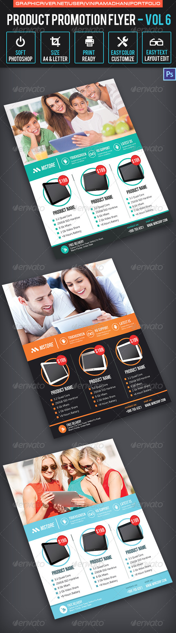 Product Promotion Flyer | Volume 6 - Commerce Flyers