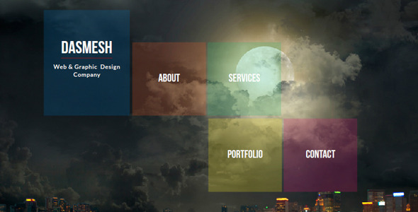 Dasmesh Modern Muse Template - Corporate Muse Templates