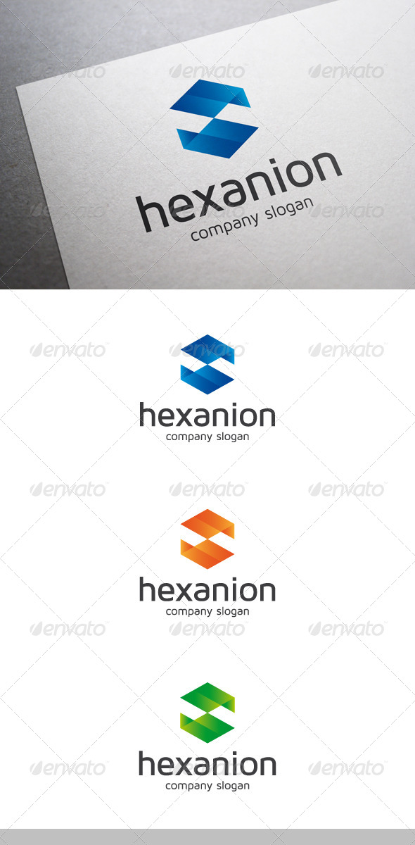 Hexanion Logo - Abstract Logo Templates