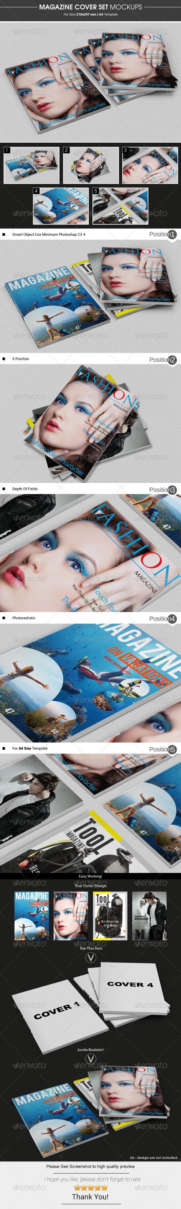 Magazine Cover Mockups - Magazines Print