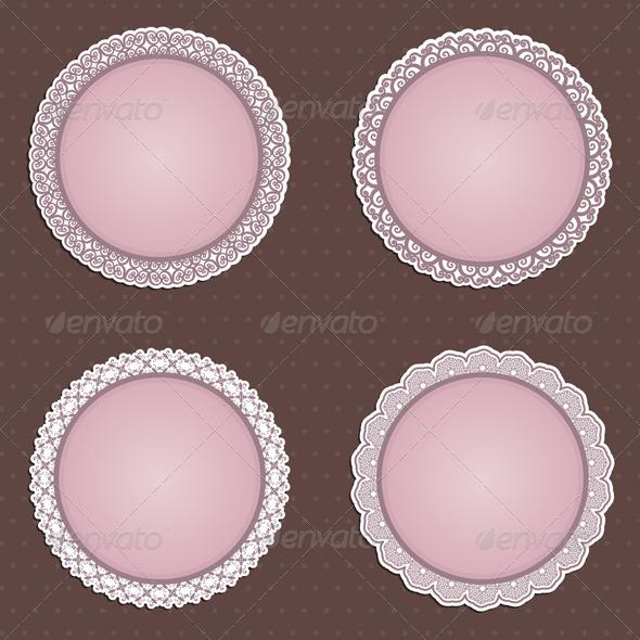 Decorative Circular Borders - Backgrounds Decorative
