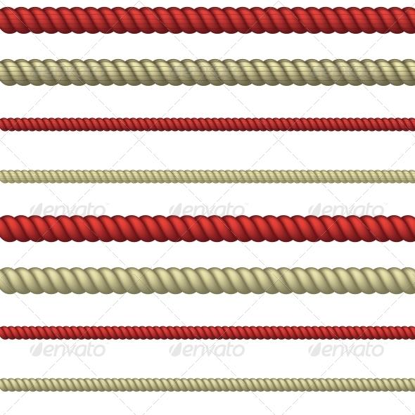 Rope Line - Borders Decorative