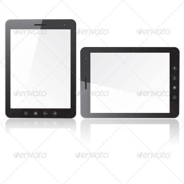 Two Tablets with Blank Screen - Computers Technology