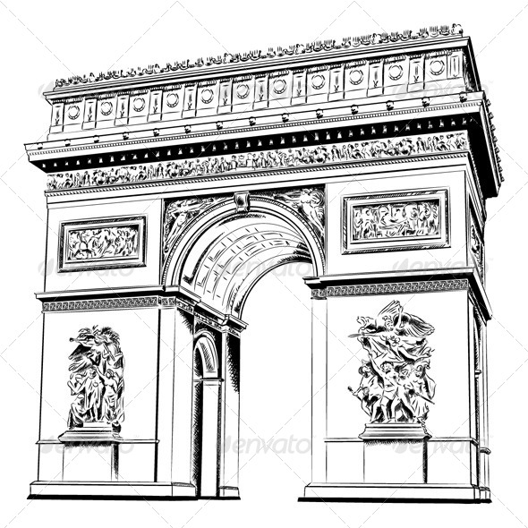 Arch of Triumph - Buildings Objects