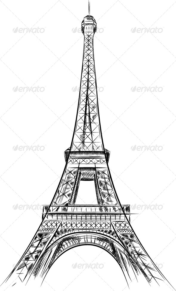 Eiffel Tower - Travel Conceptual