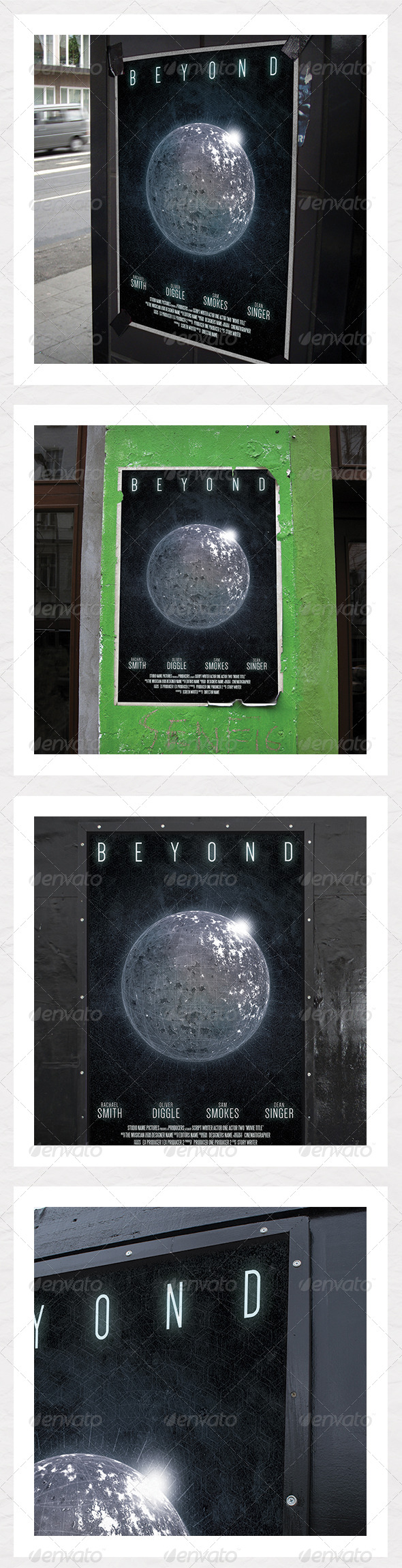 Sci Fi Film Poster - Events Flyers