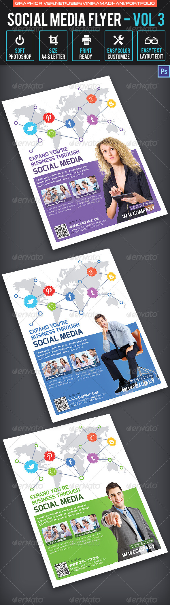 Social Media Flyer | Volume 3 - Corporate Flyers