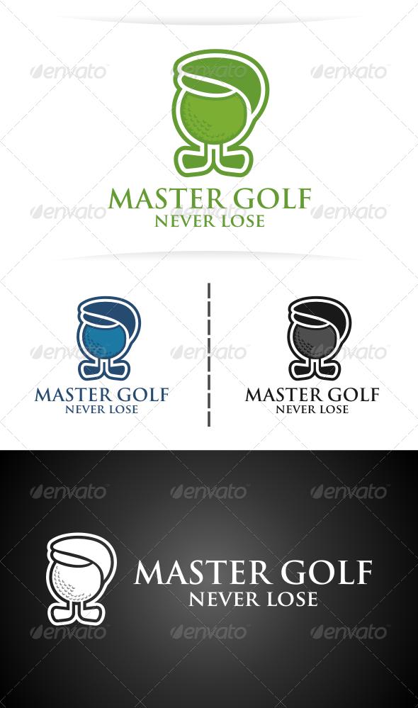Master Golf - Abstract Logo Templates