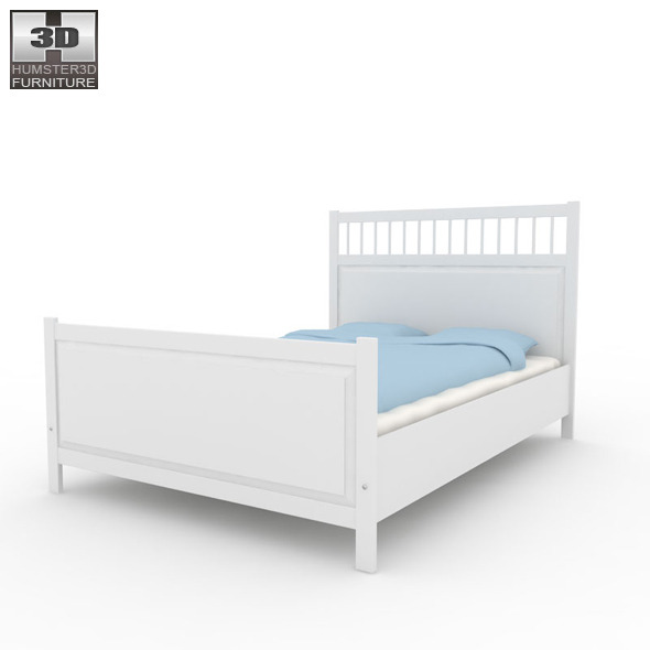 IKEA HEMNES Bed 2 3D Model by humster3d 3DOcean