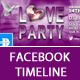 Love Party Facebook Timeline Cover - GraphicRiver Item for Sale