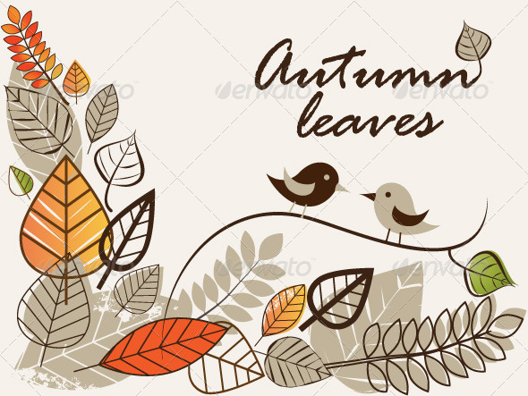 Autumn Leaves - Seasons/Holidays Conceptual