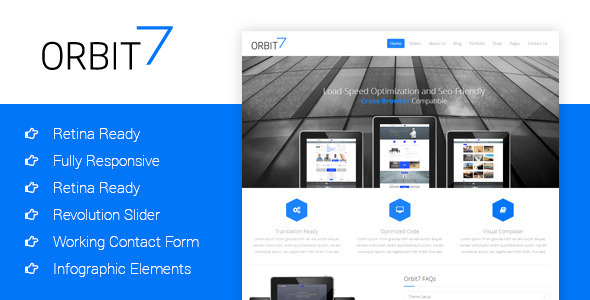 Orbit7 – Creative Multipurpose HTML5 Template