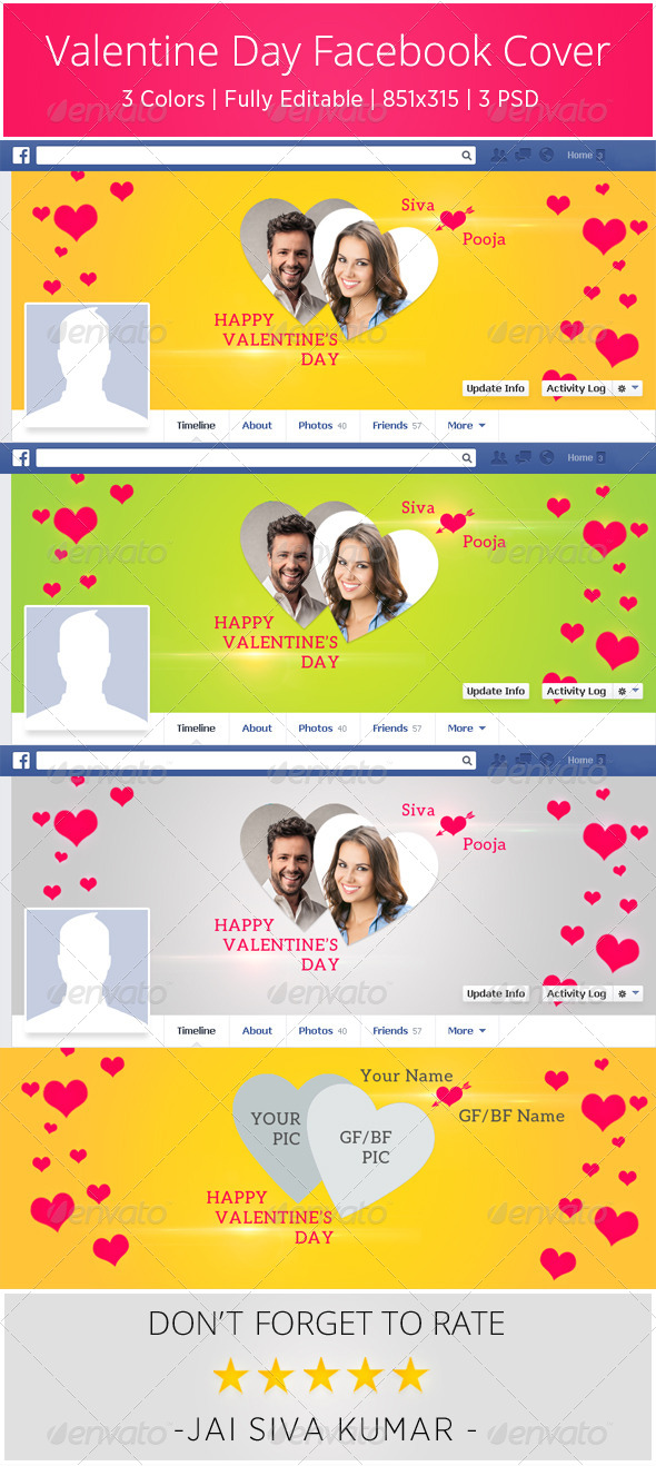 Valentine Day Facebook Cover  - Facebook Timeline Covers Social Media