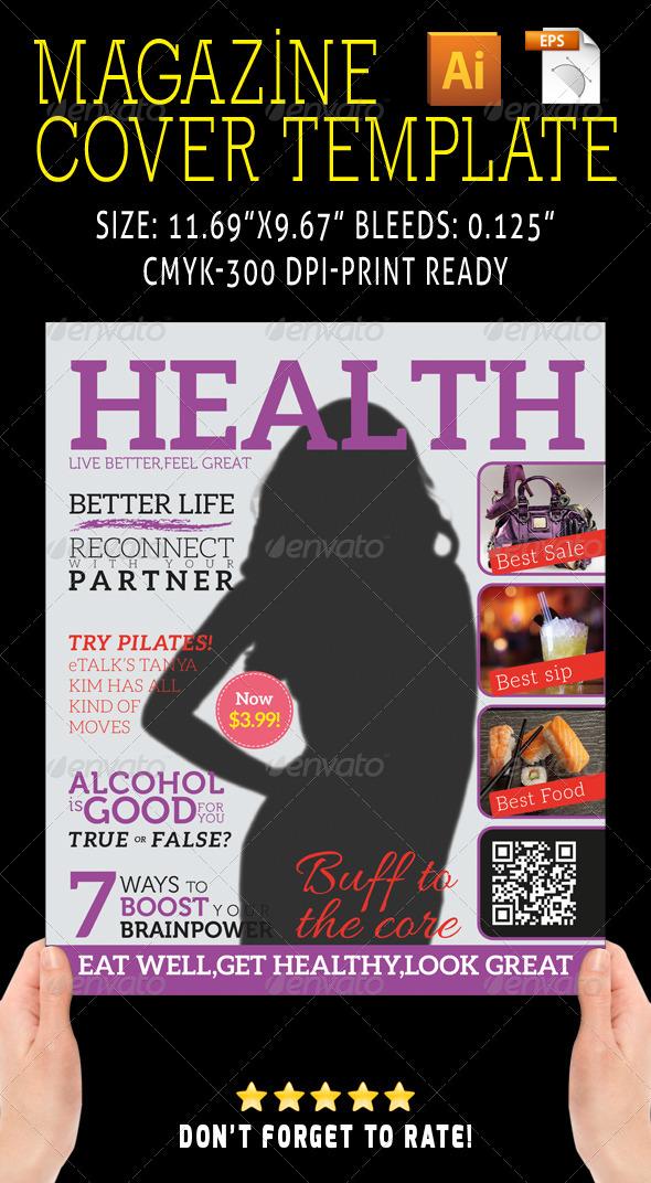 Magazine Cover 05 - Magazines Print Templates