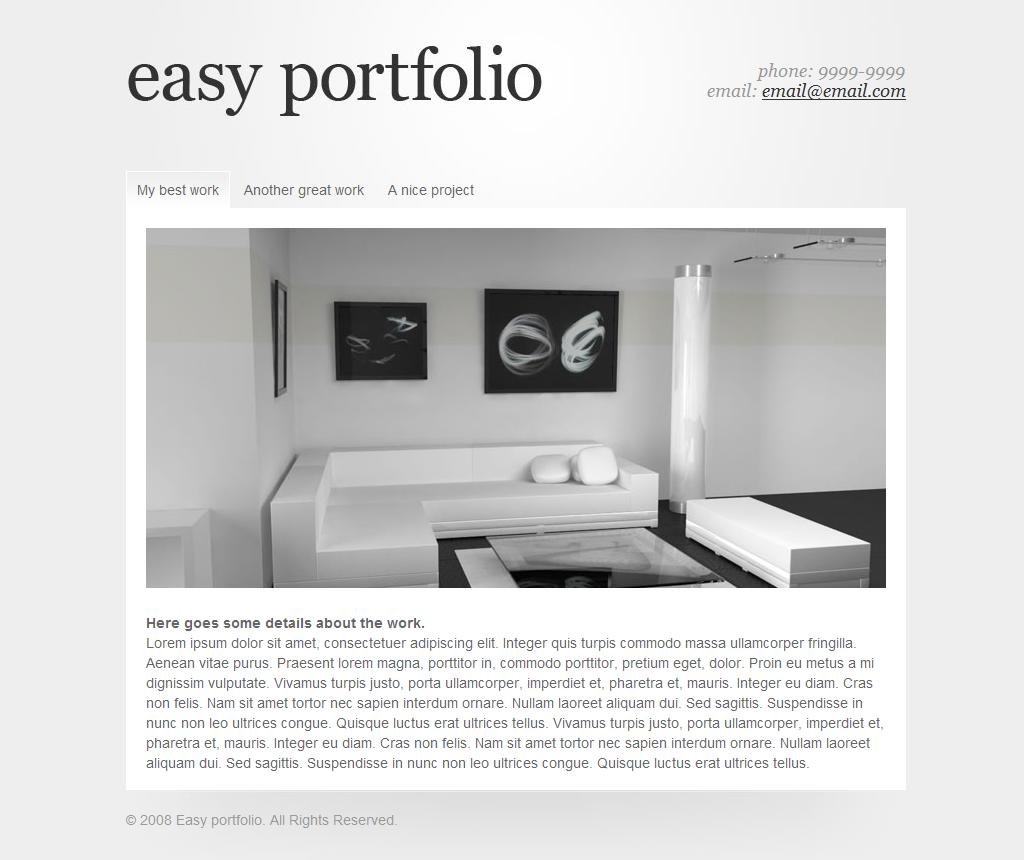 Free Download Easy Portfolio Nulled Latest Version