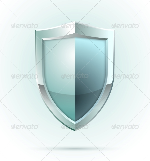 Blank Shield Security Icon - Concepts Business