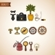 Steampunk Technology Icons Set - GraphicRiver Item for Sale