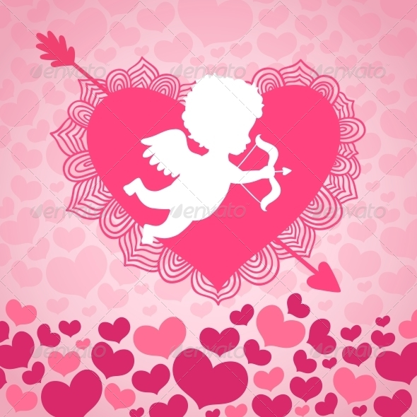 Valentines Day Angel of Love - Valentines Seasons/Holidays