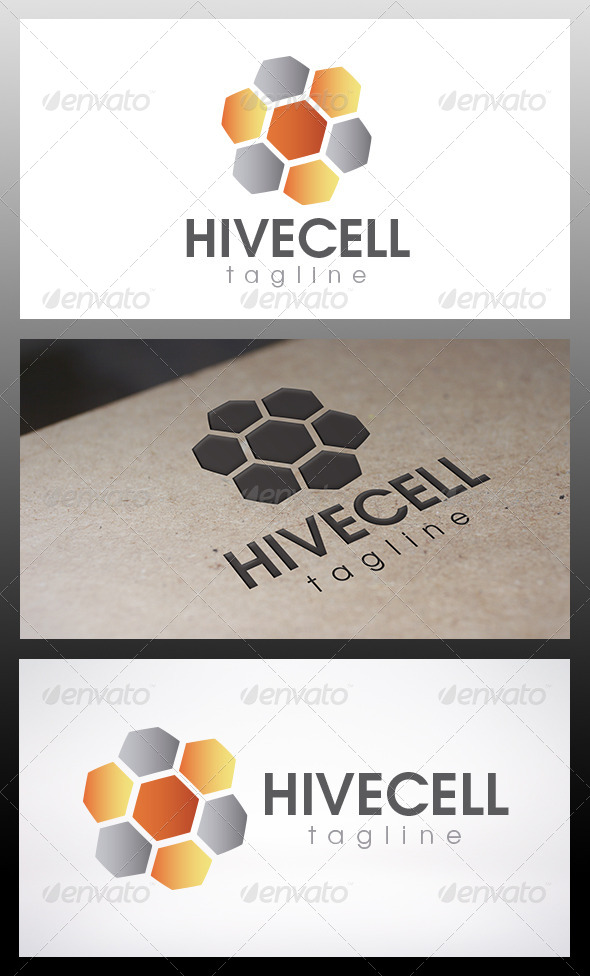 Hive Logo - Vector Abstract