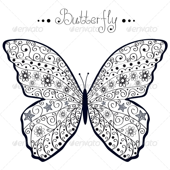 Butterfly - Miscellaneous Vectors