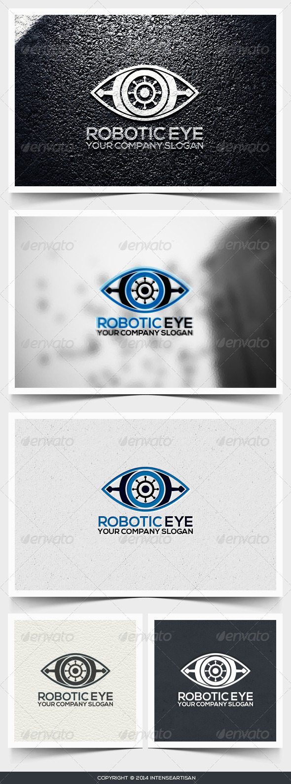 Robotic Eye Logo Template - Objects Logo Templates