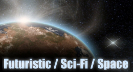Futuristic Sci-Fi Space