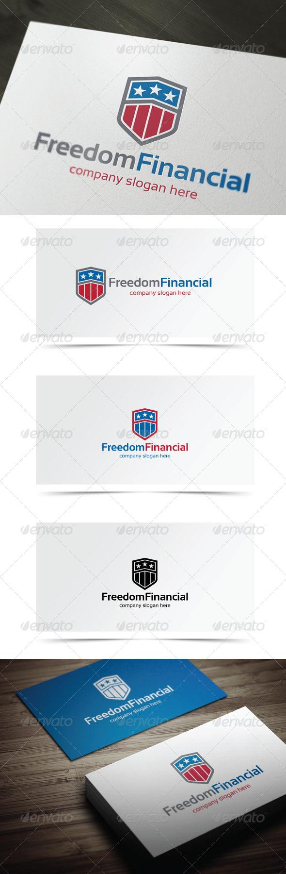 Freedom Financial - Symbols Logo Templates