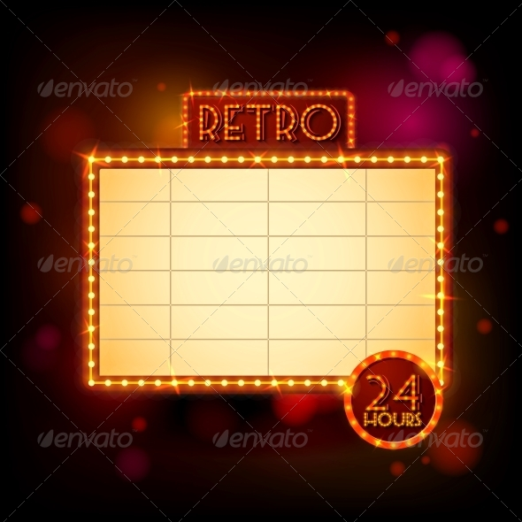 Retro Billboard Poster - Retro Technology