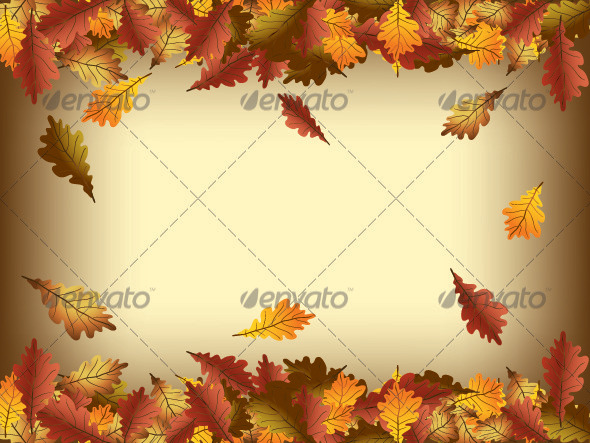 Autumn Leaves Frame - Seasons/Holidays Conceptual
