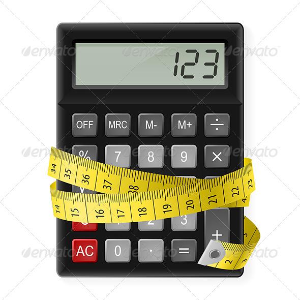 Calories Counting - Health/Medicine Conceptual