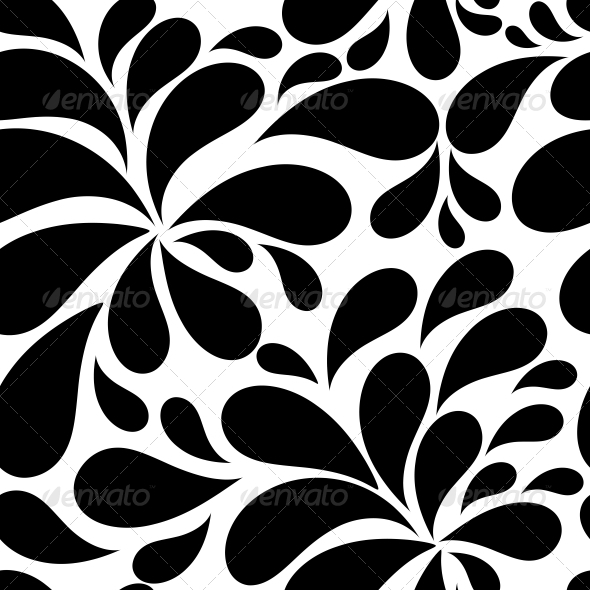 Floral Seamless Pattern Background for Weddings - Patterns Decorative