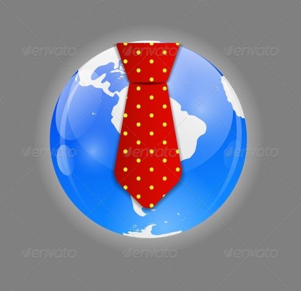 Business World Concept Vector  - Web Technology