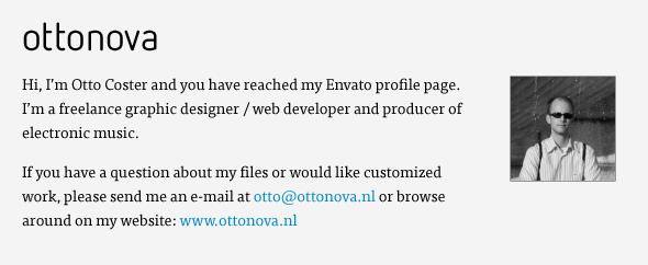 Envato profile ottonova