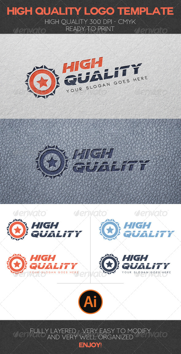 High Quality Logo Template - Abstract Logo Templates