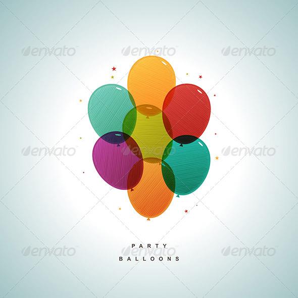 Party Balloons - Birthdays Seasons/Holidays