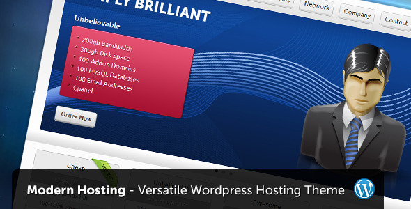 Modern Hosting - WordPress Version - Hosting Technology