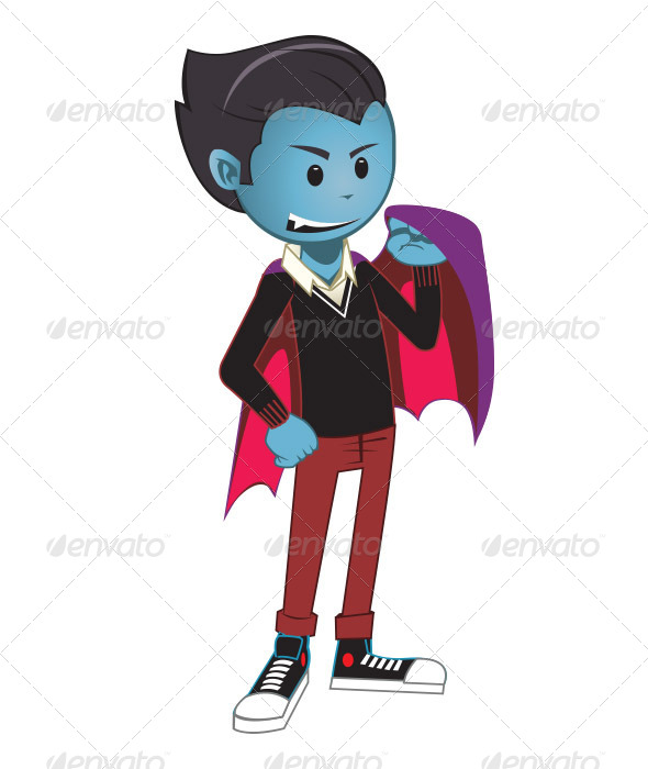 Kid Dracula - Monsters Characters
