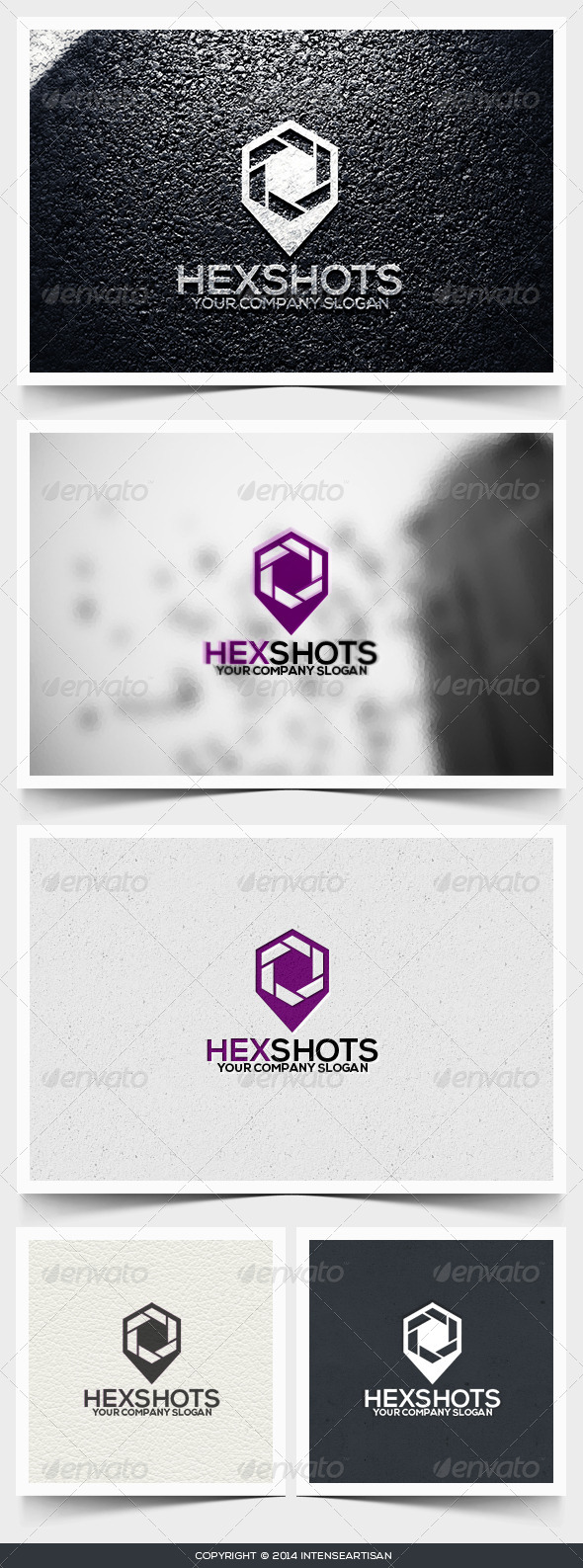 Hexshots Logo Template - Objects Logo Templates