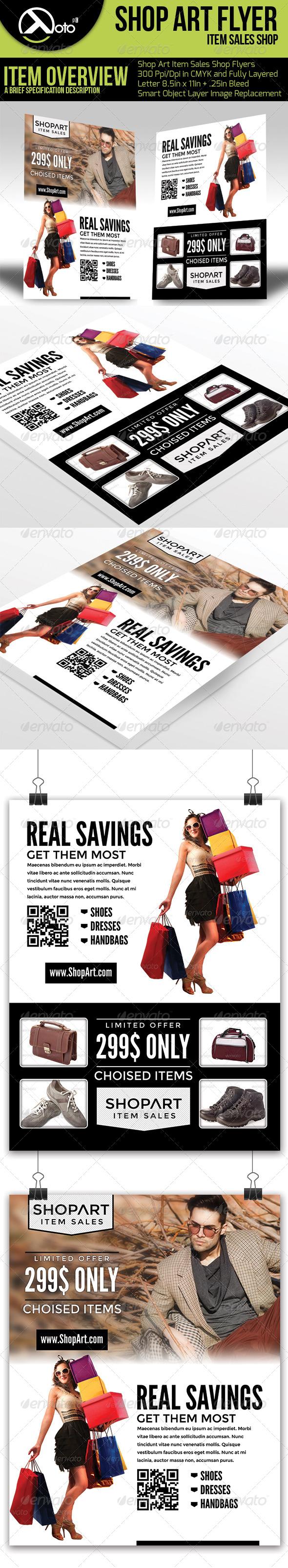 ShopArt Online Shopping Flyers - Commerce Flyers
