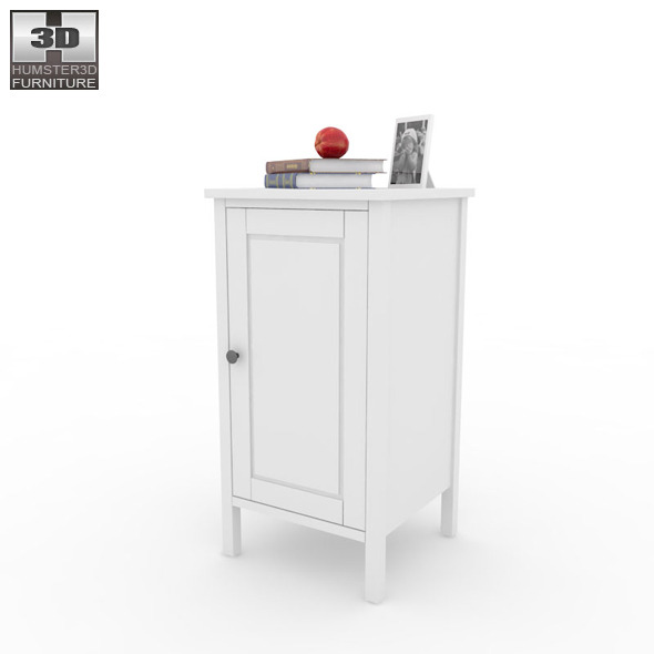 IKEA HEMNES Bedside table 2 3D Model by humster3d 3DOcean