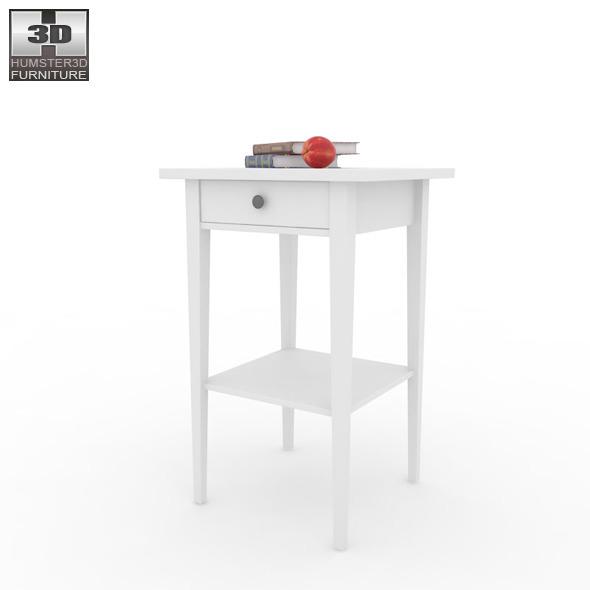 IKEA HEMNES Bedside table 3 3D Model by humster3d 3DOcean